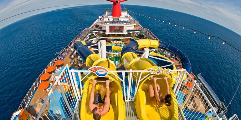 carnival dream water slide