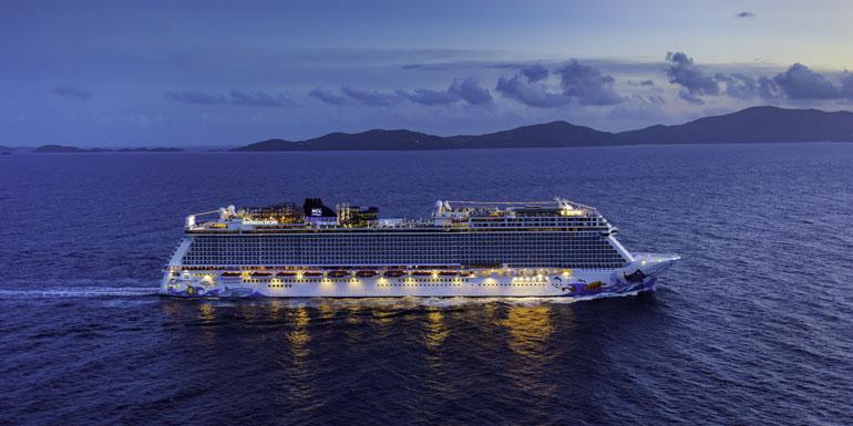 norwegian escape st thomas largest ship