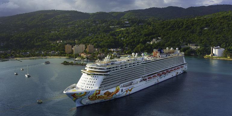 norwegian getaway ocho rios biggest ship