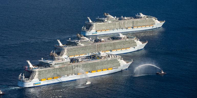 largest biggest cruise ships world