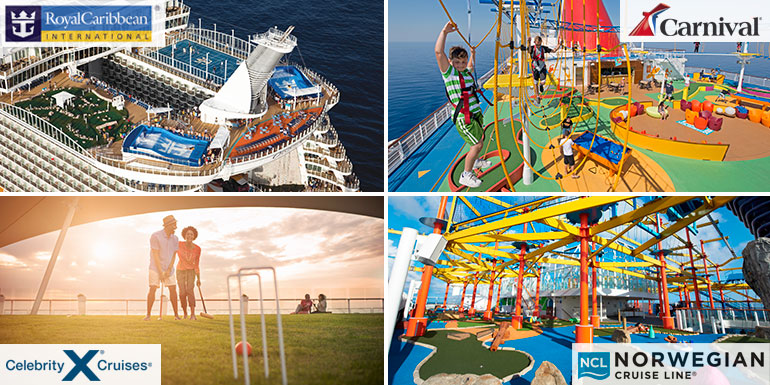 lido deck sports cruise ship