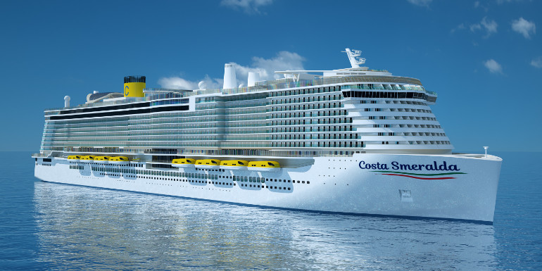 costa smeralda new cruise ship 2019