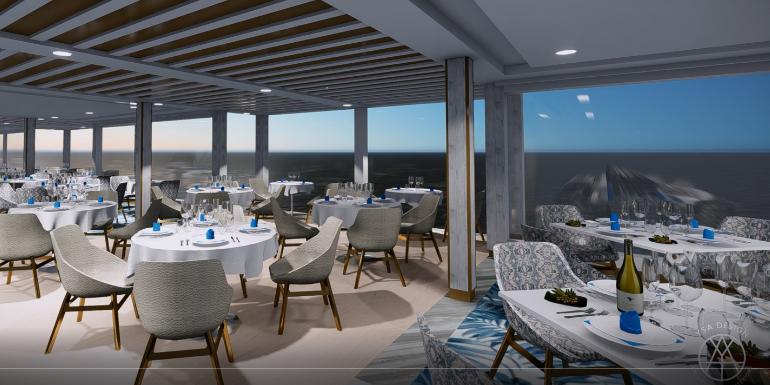 la veranda italian restaurant seven seas splendor new ships 2020