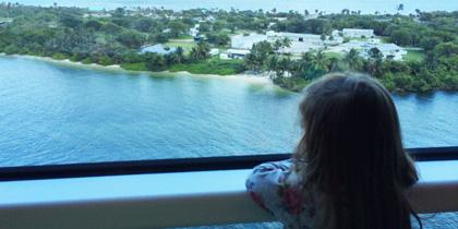 boarding cruise ship embarkation