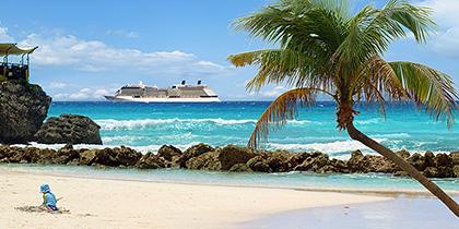 caribbean itineraries western eastern southern beach
