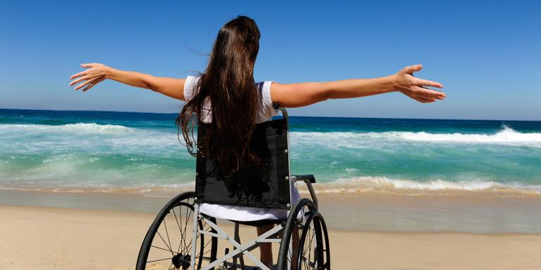 beach wheelchair cruise handicap disability