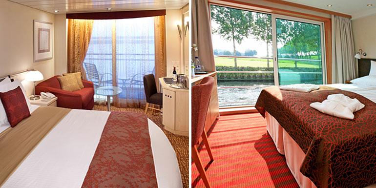 river ocean cruise cabins