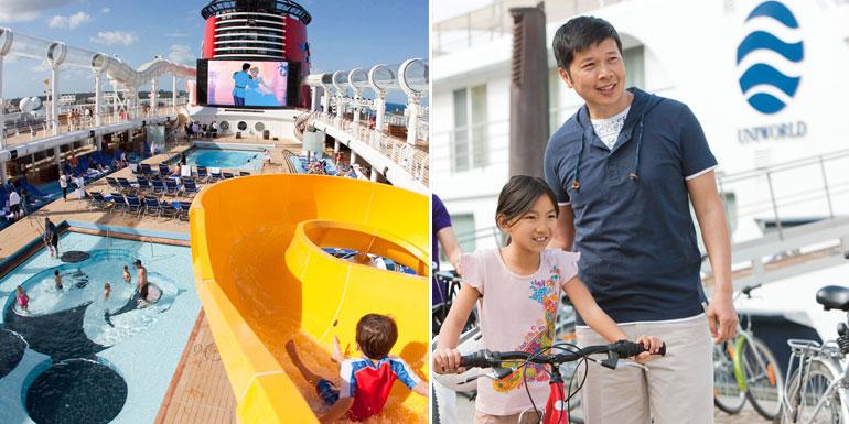 river ocean cruise kids