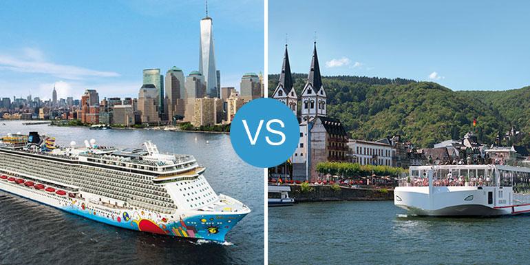 river vs or ocean cruises