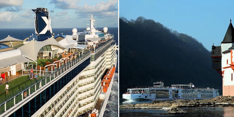 river ocean cruise ships