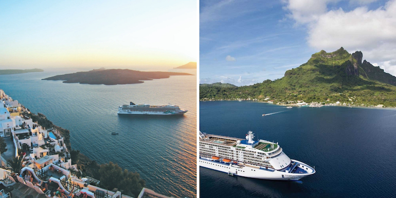 ship within a ship luxury pricing smackdown destinations