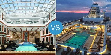 Ship-Within-a-Ship vs. Luxury Cruises: Smackdown!