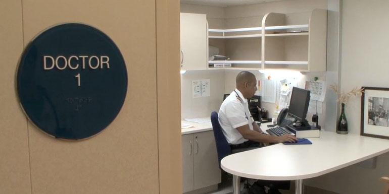 doctor cruise ship royal caribbean infirmary