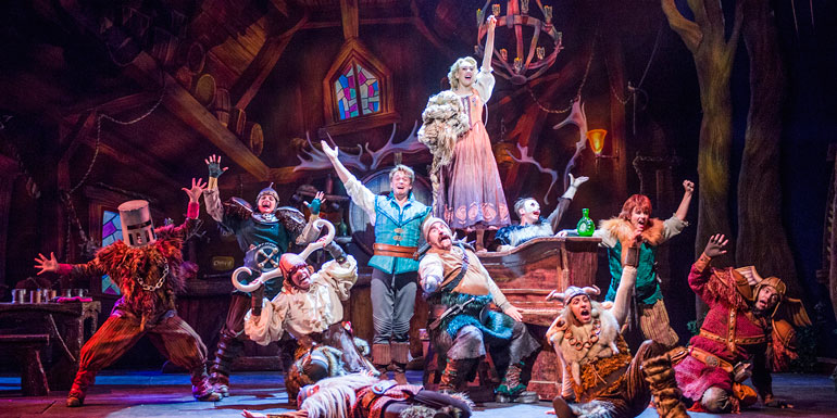 tangled disney musical stage show cruise