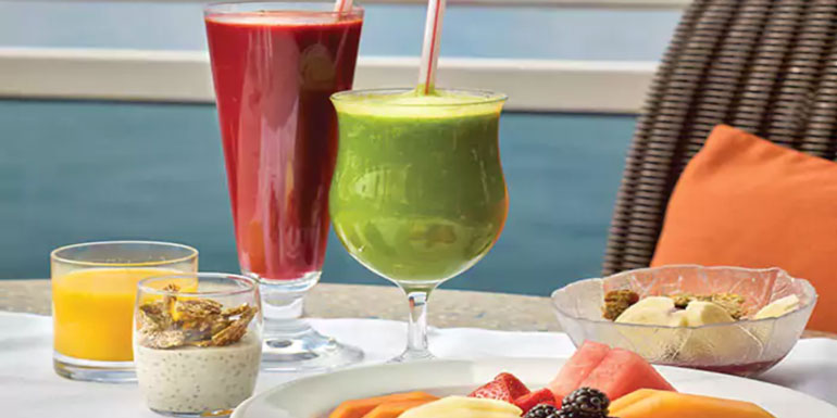 cruise healthy stay in shape vegan