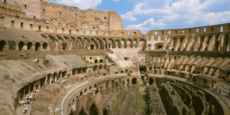 rome ruins cruise bad condition