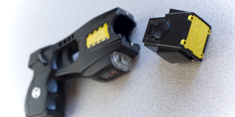taser stun gun cruising weapons prohibited