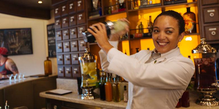 carnival cruise tipping alchemy bar bartender