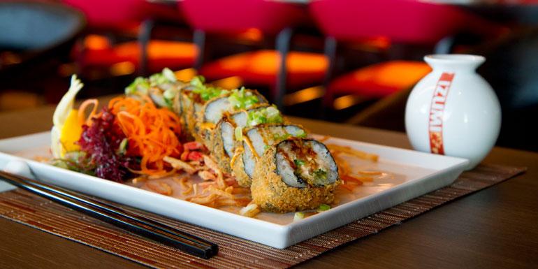 izumi sushi royal caribbean cruise dining