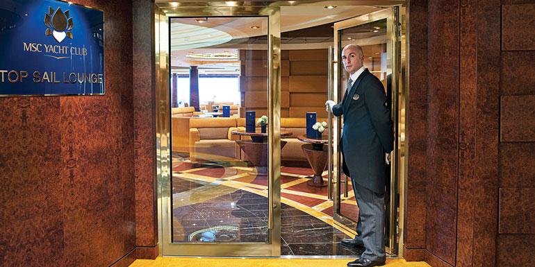 vip cruise experience msc yacht club