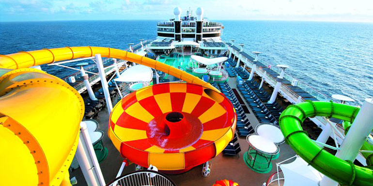 6 Craziest Cruise Ship Water Slides