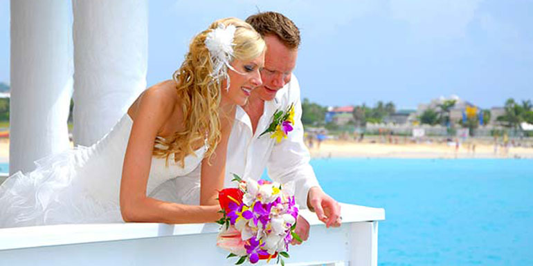 married cruise ship wedding