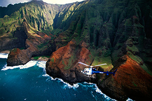 napali coast helicopter nawiliwili kauai hawaii