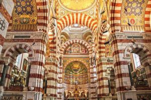 Basilique Notre Dame garde marseille france