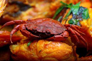Crab at Le Miramar marseille france