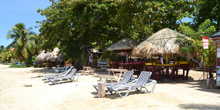 barefeet bar roatan honduras cruise port