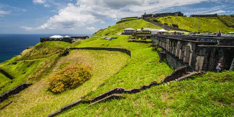 st kitts fortress