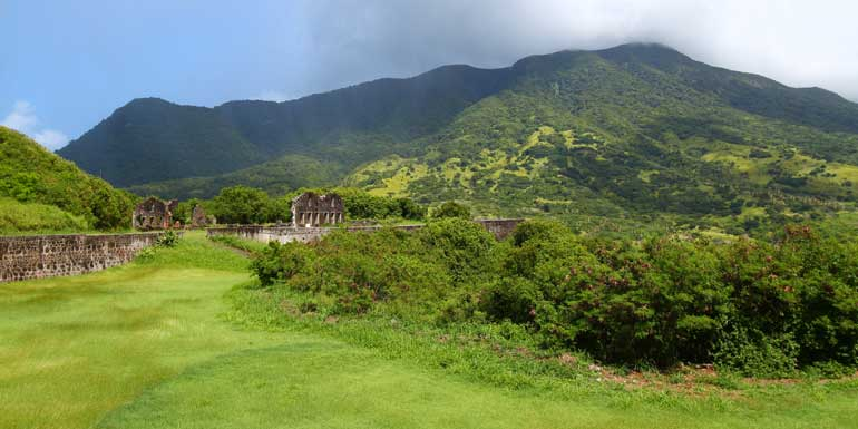 st kitts rainforest brimstone hill fortress
