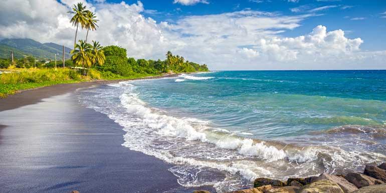 st kitss volcanic beach