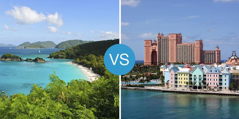caribbean vs bahamas cruise smackdown best