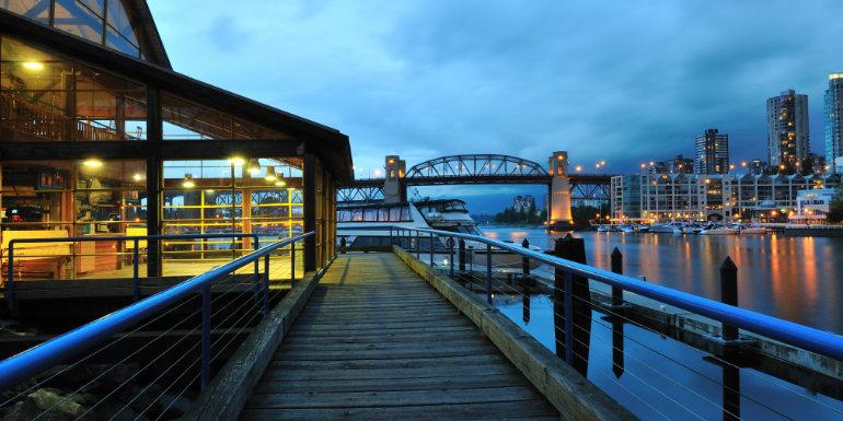 granville island vancouver canada park cruise