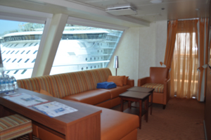 carnival freedom captains suite review cabin