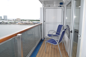 carnival freedom junior suite balcony review