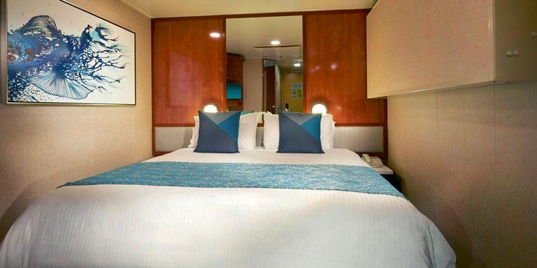 inside cabin balcony cruise ship upgrade