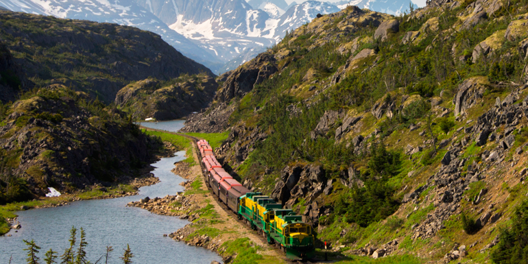 white pass yukon train cruise tours