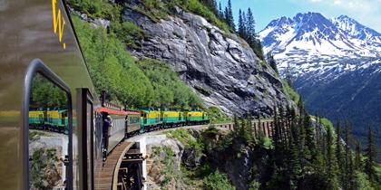 white pass alaska train cruise tour
