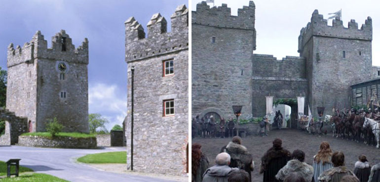 winterfell castle ward game of thrones