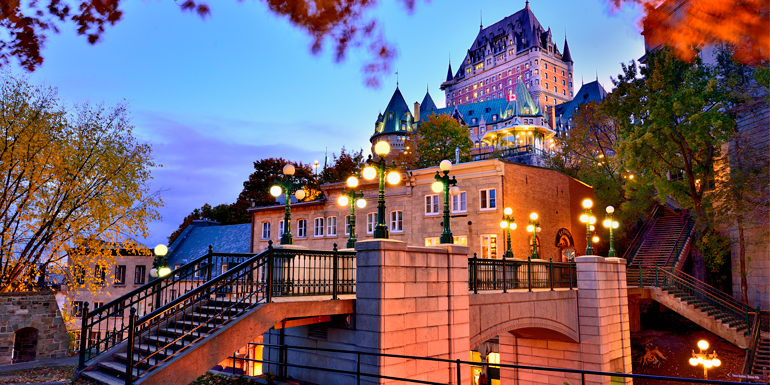 quebec city walkable cruise ports
