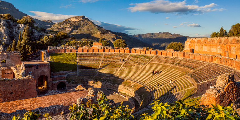 greek theater peloritani taormina western med