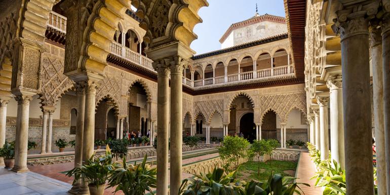 alacazar palace seville western med tours