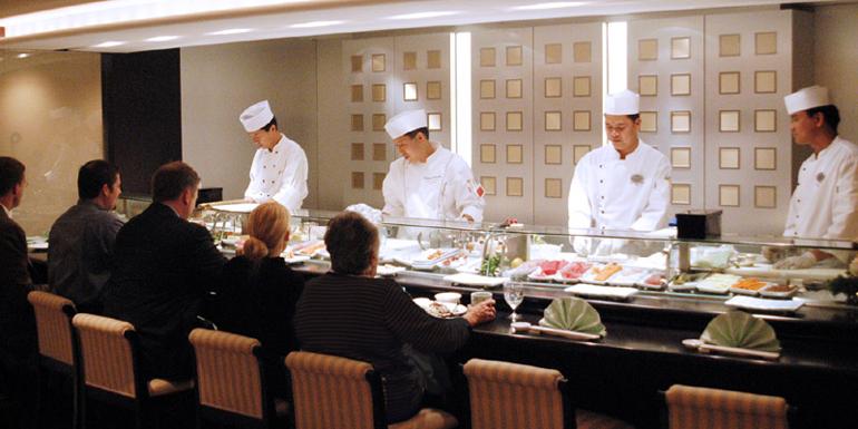 best cruise line food dining restaurants