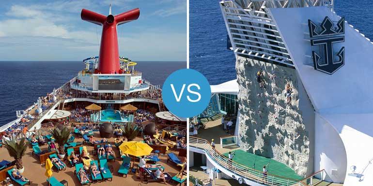 carnival vs royal caribbean smackdown best