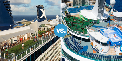 celebrity royal caribbean cruise smackdown