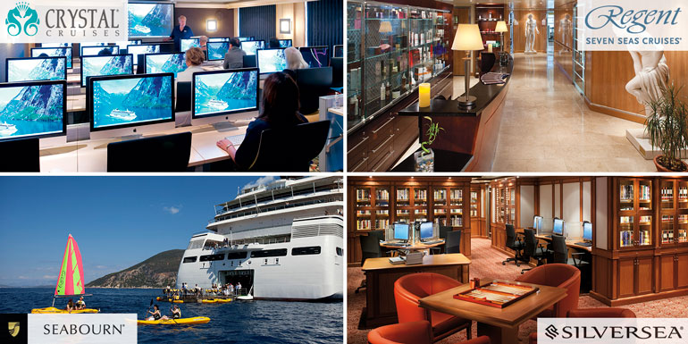 luxury activities cruise crystal silversea regent