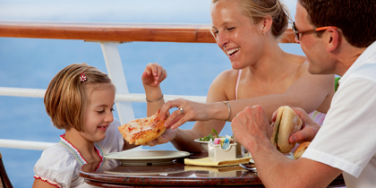 carnival pizza cruise ship food dining