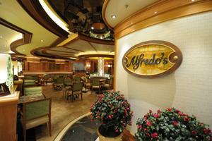 alfredos pizza princess cruise ship dining
